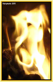 Fire elementals, photos of fire spirits